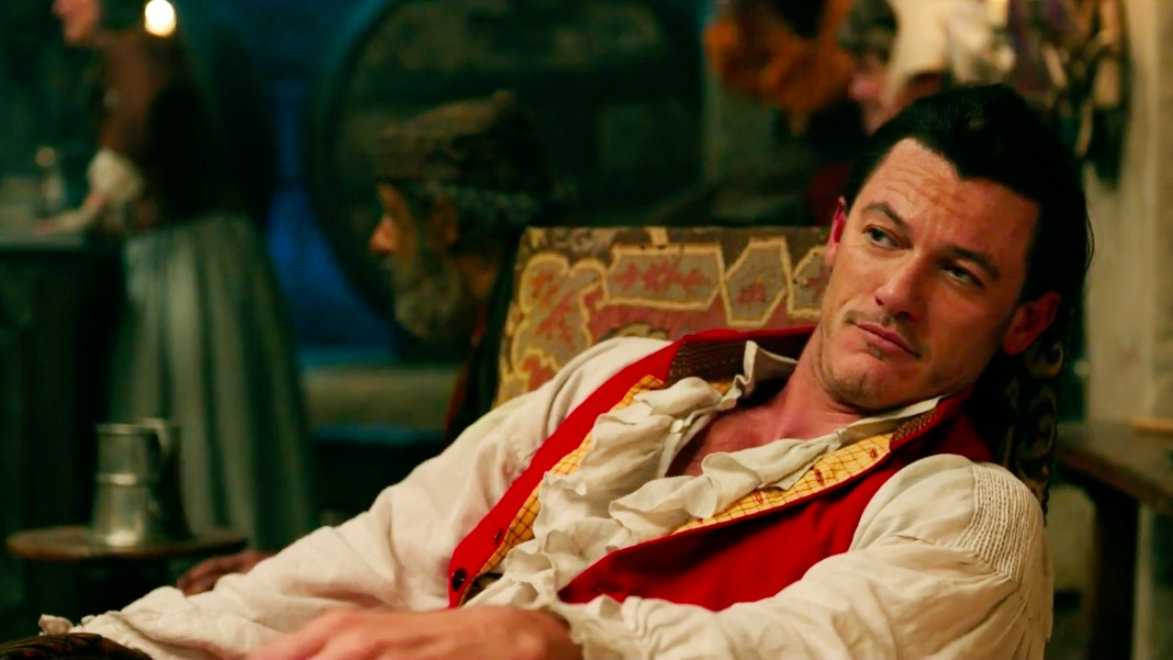 Luke Evans is a well-known actor who is also gay (and gorgeous!)