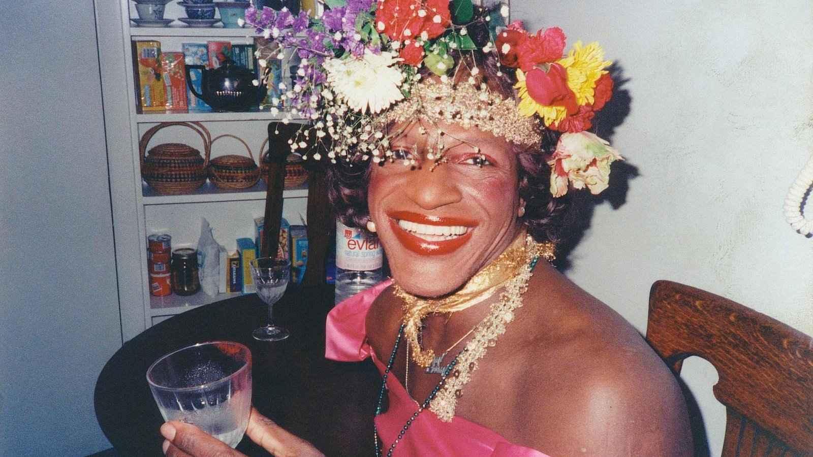 Marsha P Johnson era uma referência na cena drag de Nova York e um ícone gay