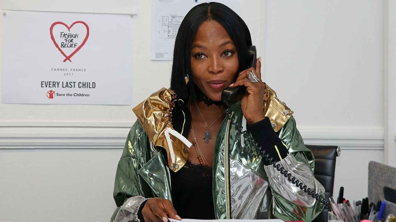 Naomi Campbell is a supermodel and a super ally/advocate for gay people
