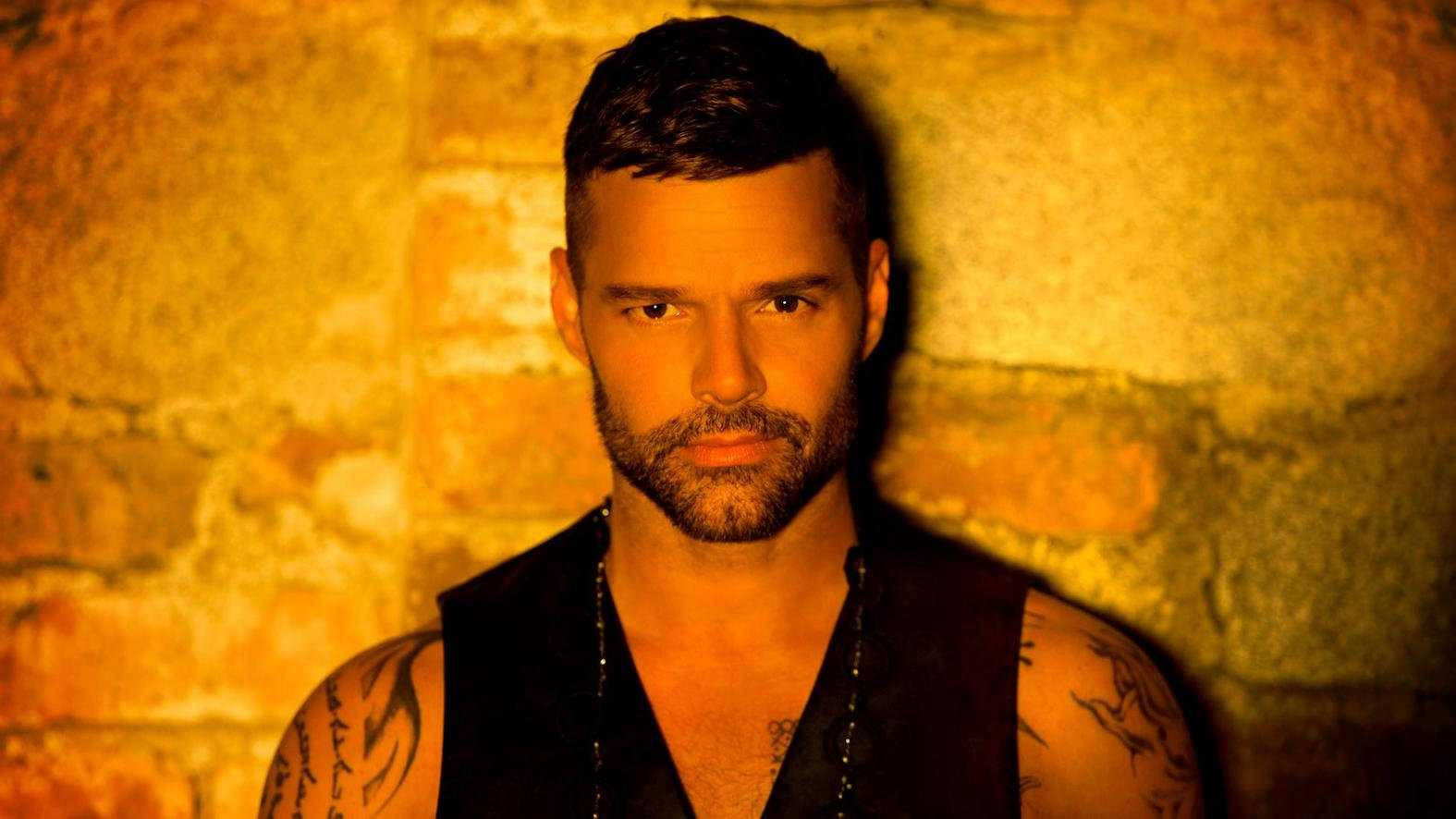 Ricky Martin is a famous Latin pop singer who's now out and proud