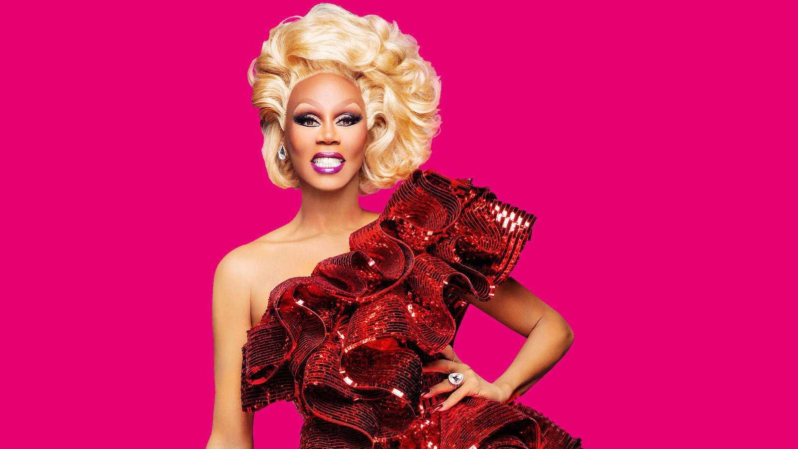 RuPaul é um drag performer muito famoso e um dos maiores ícones gays do mundo no momento