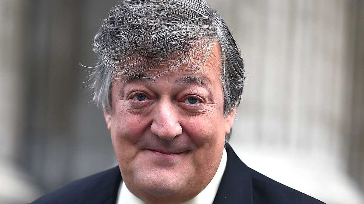 Stephen Fry is a British gay icon who we love to see on our TV