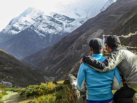 O Circuito de Annapurna é uma das caminhadas mais espetaculares do Himalaia que você pode fazer no Nepal