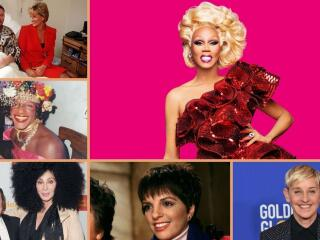 Our list of the top gay icons of all time