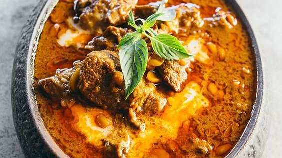 Saraman curry is an incredibly complex but delicious traditional beef curry from Cambodia