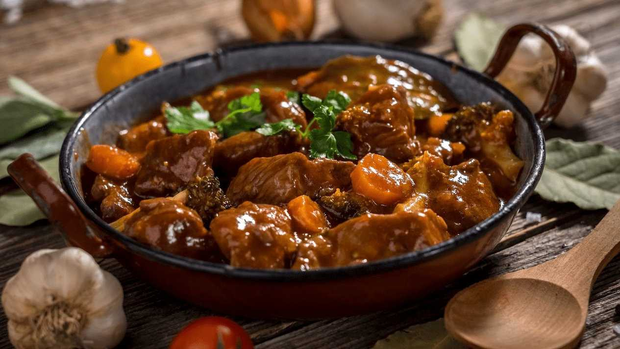 Carbonada is a hearty traditional winter stew from Argentina that's very yummy