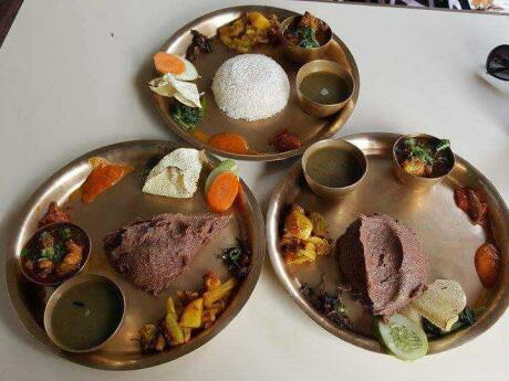 Dhido is a yummy food from Nepal you should try while in the country
