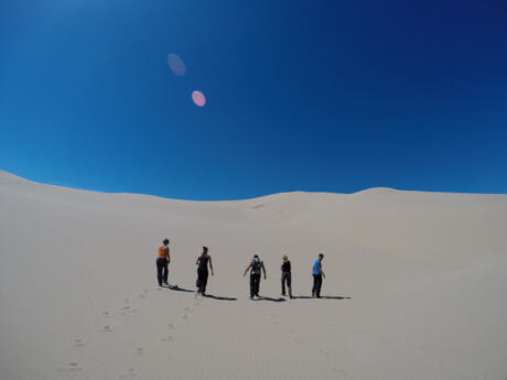 The views of the Gobi Desert in Mongolia are totally incredible
