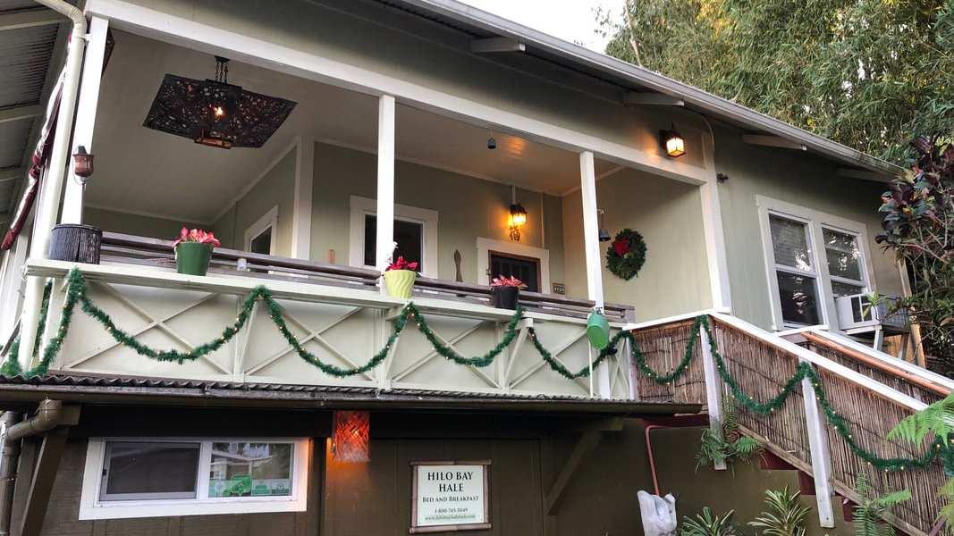 Para uma estadia havaiana verdadeiramente local, você não pode deixar de lado o Cama e Café gay Hilo Bay Hale