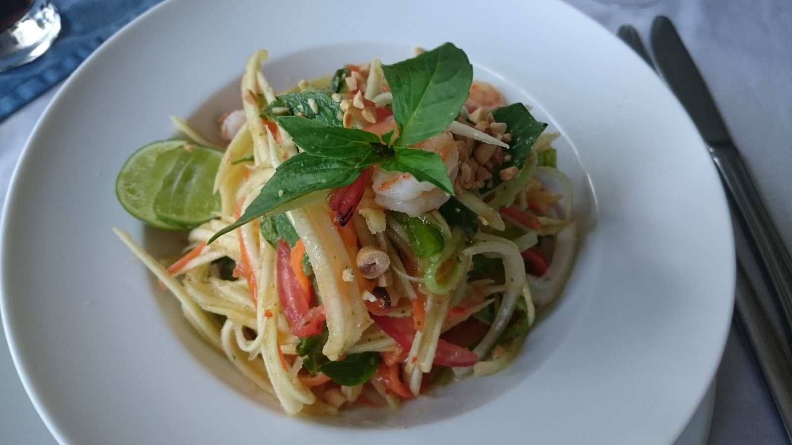 Khmer green mango salad is refreshing, zesty and one of our favorite traditional dishes from Cambodia