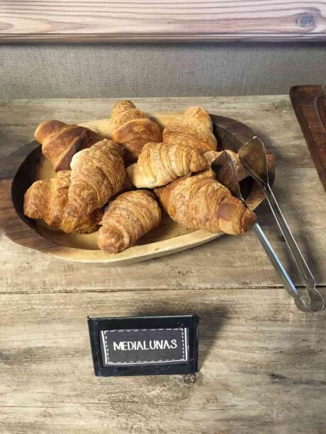As medialunas são um prato tradicional da Argentina que se assemelha aos croissants