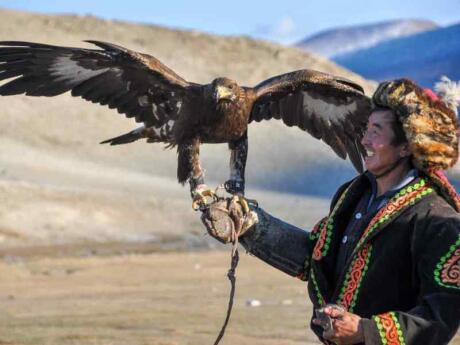 Experience the amazing Golden Eagle festival and the rest of Mongolia on a gay tour with Out Adventures