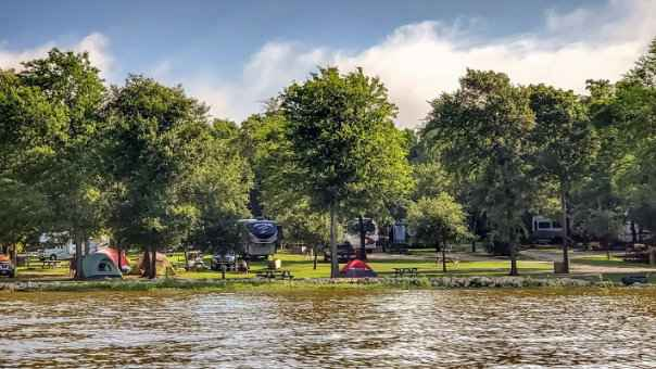Rainbow Ranch is a beautiful riverside gay campground in Texas