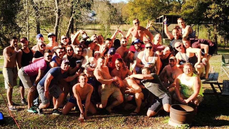 Sawmill Camping Resort is one of the best gay campgrounds in the USA with a real feeling of camraderie