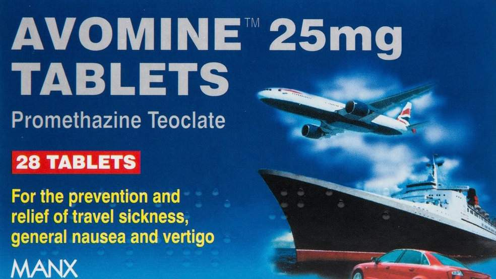Avomine is an excellent pill for avoiding sea sickness