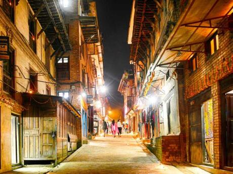 Bhaktapur is a town near Kathmandu that's great for seeing the traditional architecture, art and culture of Nepal