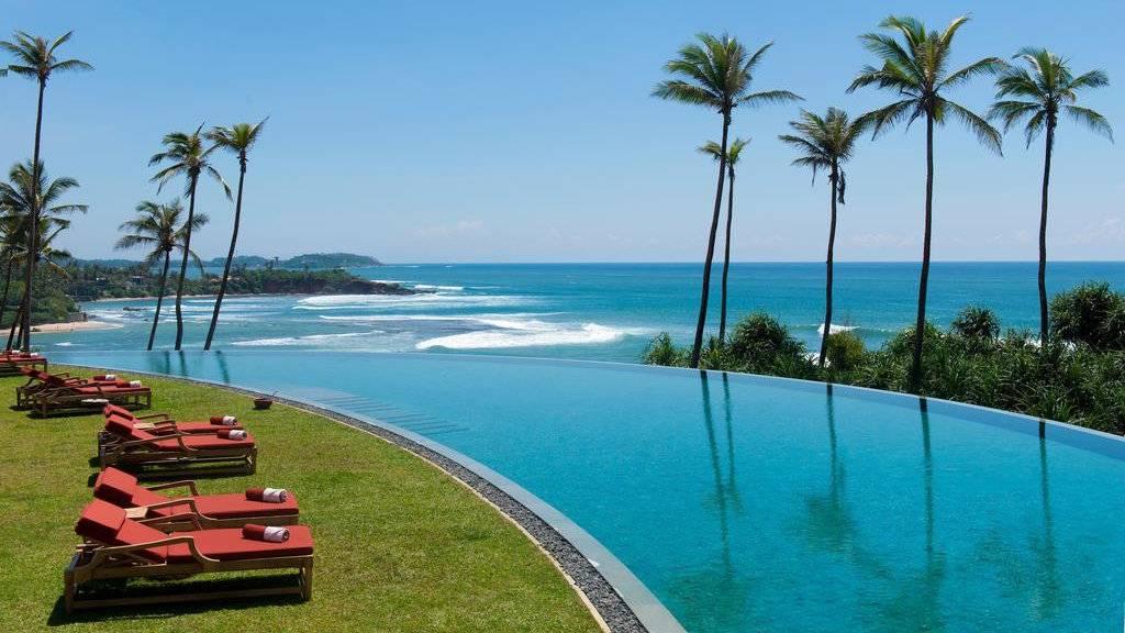 Cape Weligama is a stunning luxury resort near Mirissa in Sri Lanka