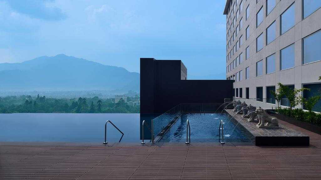 The Marriott Hotel is a wonderfully gay friendly hotel in Kathmandu with an incredible infinity pool