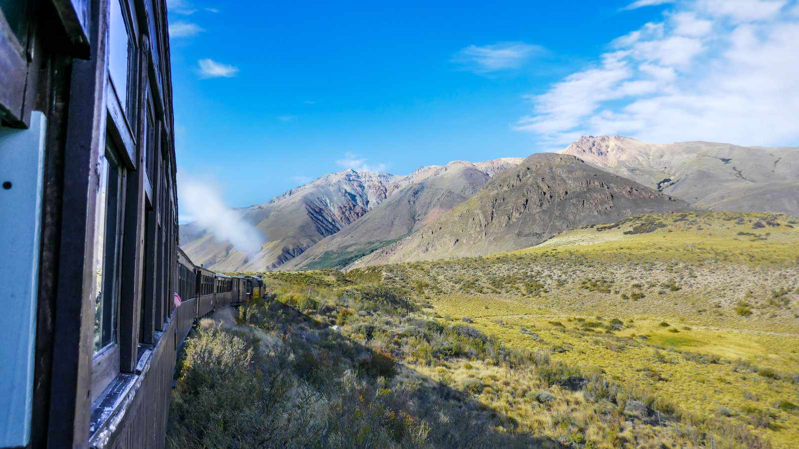 A ride on the Old Patagonia Express steam train is a real highlight of Patagonia