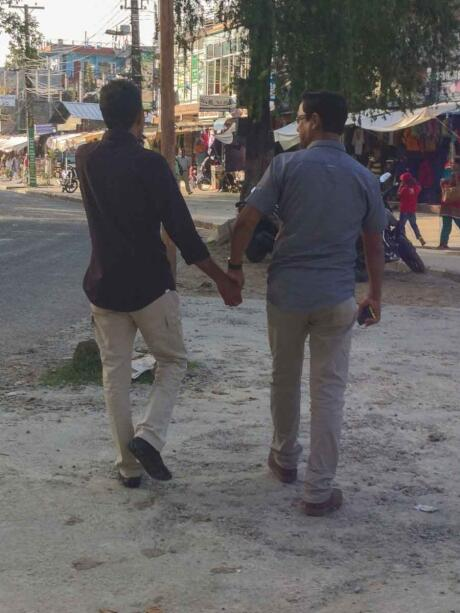 There is a small gay scene in Nepal's capital city Kathmandu