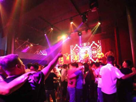 Nectar is a fun gay nightclub in Manila that mostly plays electronic dance music and hosts drag shows