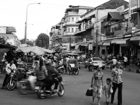 The Russian Market in Phnom Penh is loud, crazy and a great spot for souvenirs or gifts