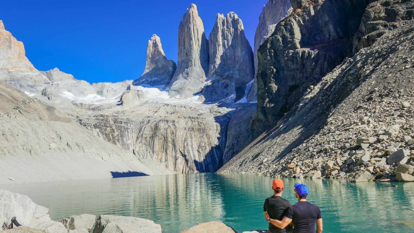 Torres del Paine are three peaks of the Paine mountain range - a highlight of visiting Patagonia