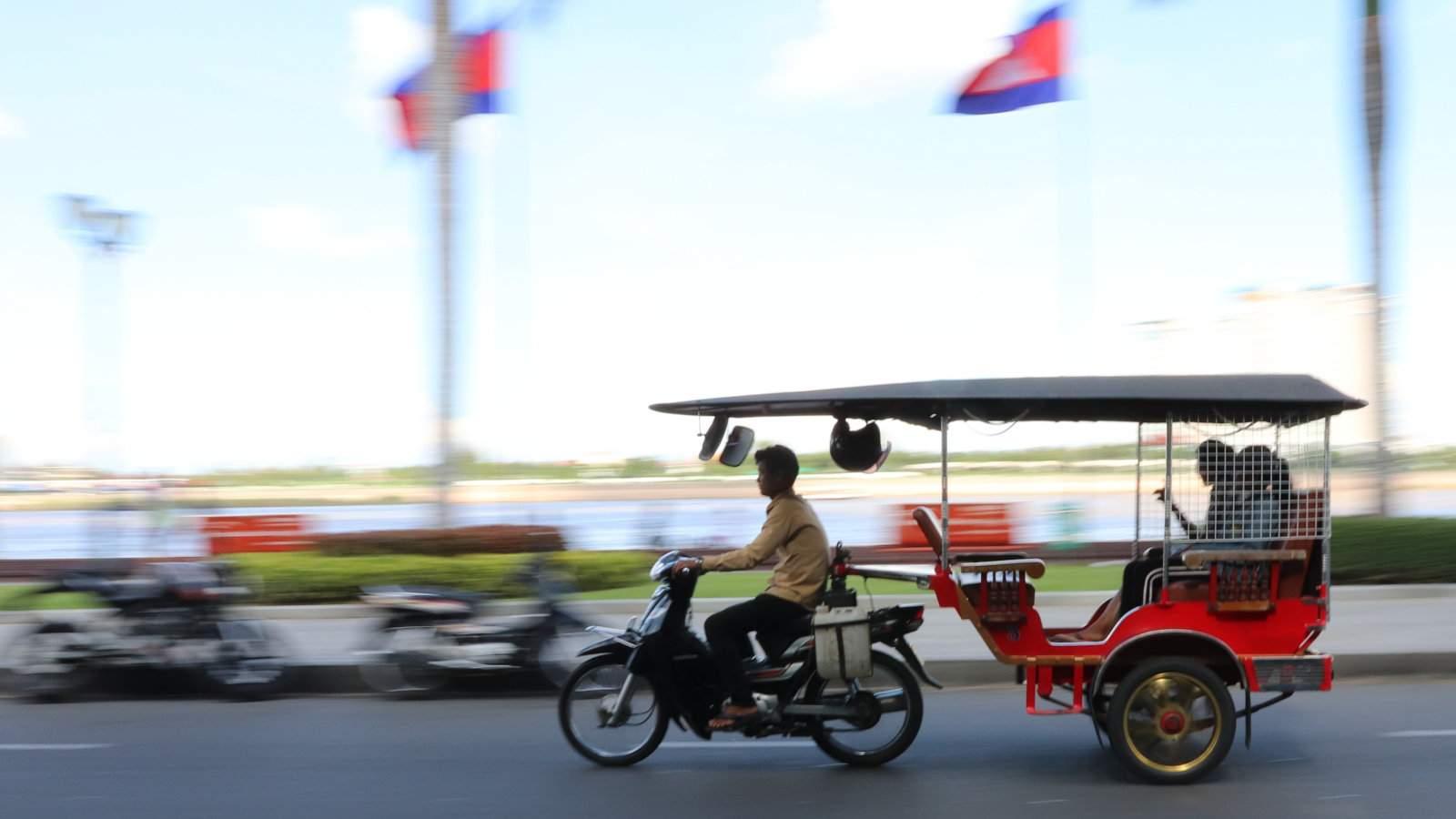 Tuk-tuks are one of the best ways to explore Phnom Penh