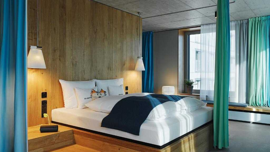 25hours Hotel Lanstrasse is a quirky and gay friendly hotel in Zurich