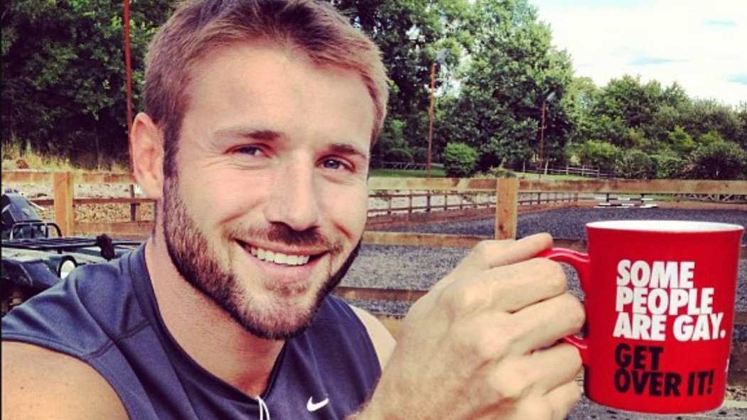 Ben Cohen is a rugby star and gay ally working to end bullying towards gay people in sport