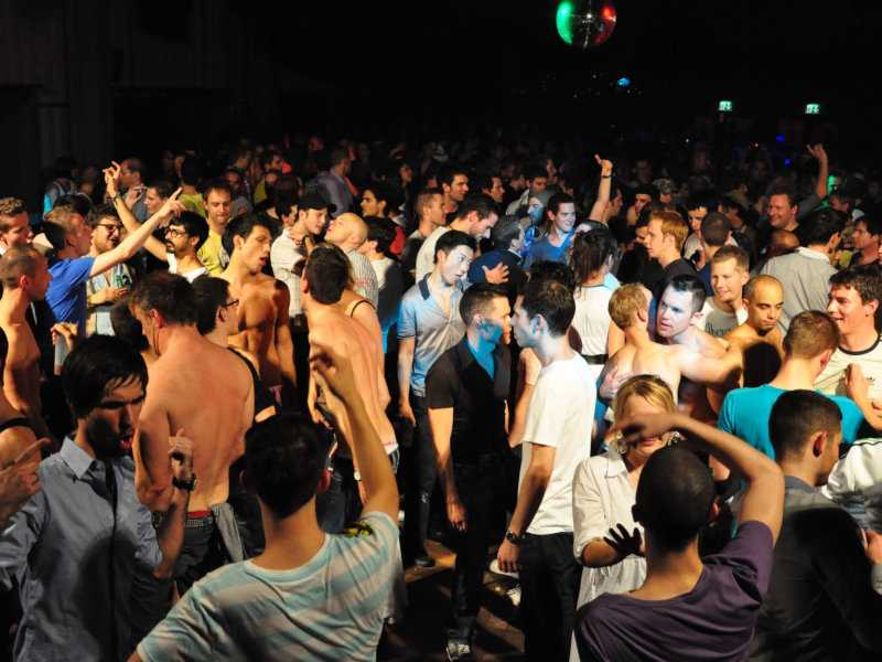 Boyahkasha is an epic gay dance party that takes place sporadically in Zurich