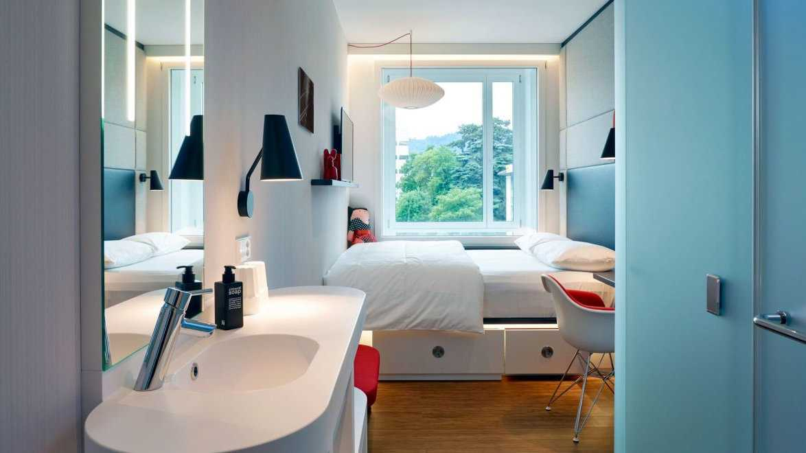 For simplicity and comfort you can't go past the CitizenM Zurich hotel