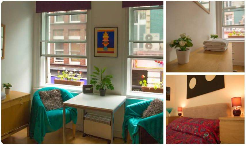 Stay in this gay Airbnb in London with your significant other and best gay couple friends!