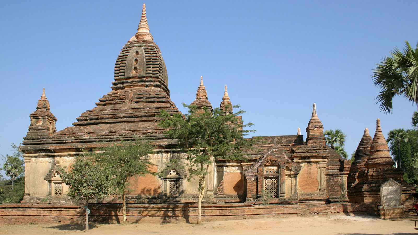 Gubyaukgyi is one of the best temples in Bagan to see sunset
