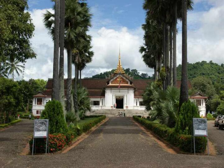 Luang Prabang's former royal palace is now an interesting and beautiful museum to visit