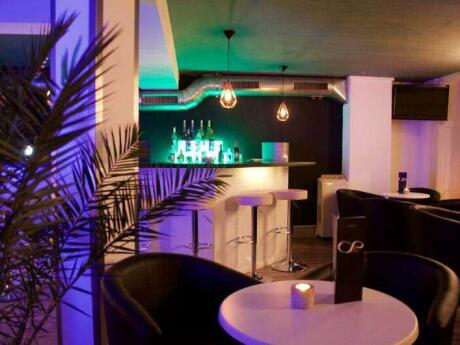 Infinity Bar and Lounge is a sleek and sporty gay bar in Zurich that we loved