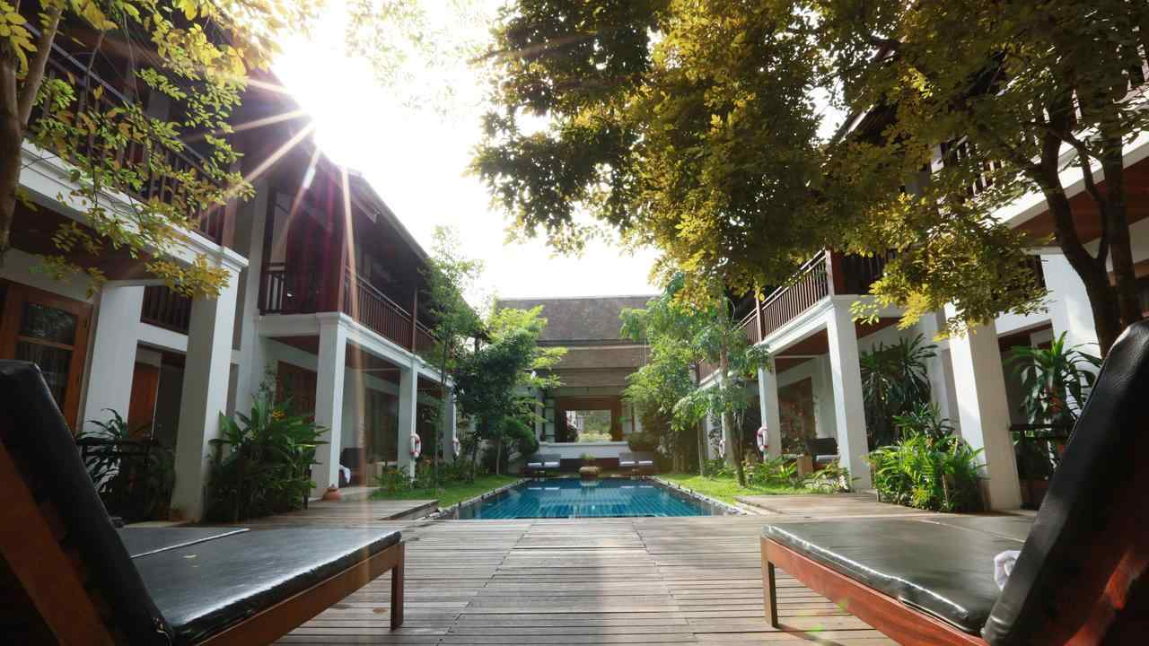 We had a very romantic stay at Le Sen Boutique Hotel in Luang Prabang