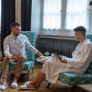 For the best gay friendly stay in Zurich, we recommend the Marktgasse Hotel