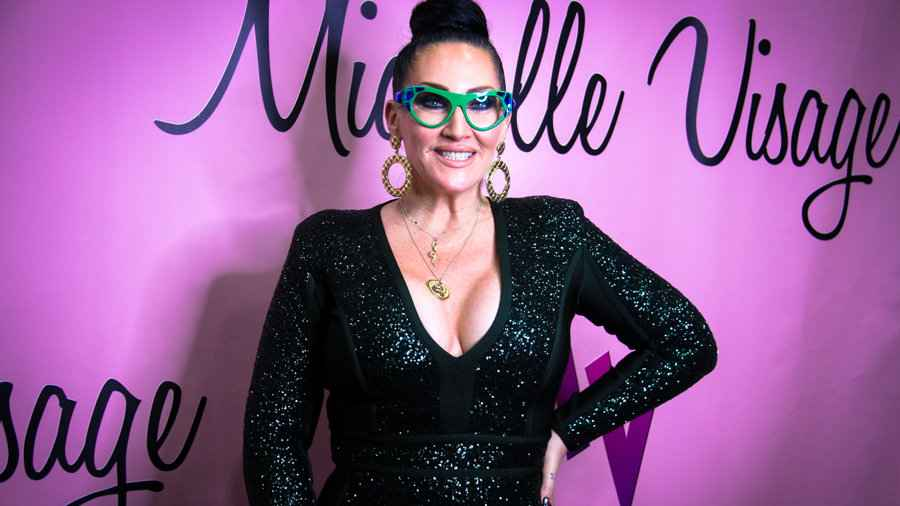 Michelle Visage is RuPaul's best friend and a fab gay ally