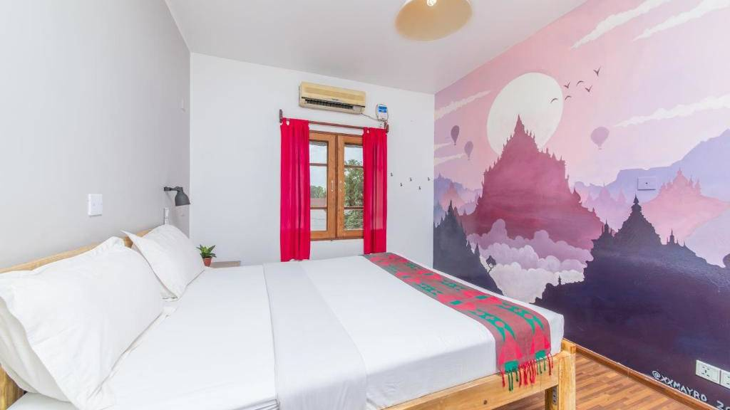 Ostello Bello Bagan is a lovely hostel for travelers to Bagan in Myanmar