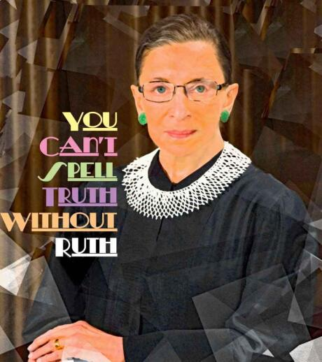 Ruth Bader-Ginsburg was an amazing lawyer and jurist who helped advance gay rights in America
