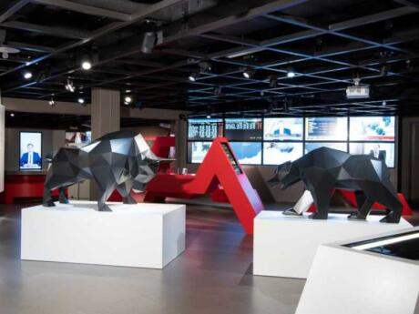 The Swiss Finance Museum in Zurich is actually really interesting and quite fun!