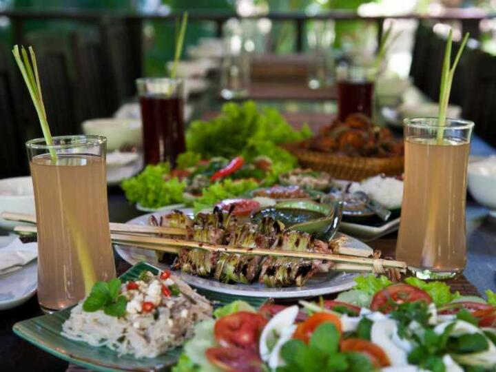Tamarind is a cooking school and an excellent restaurant in Luang Prabang for trying Laos cuisine