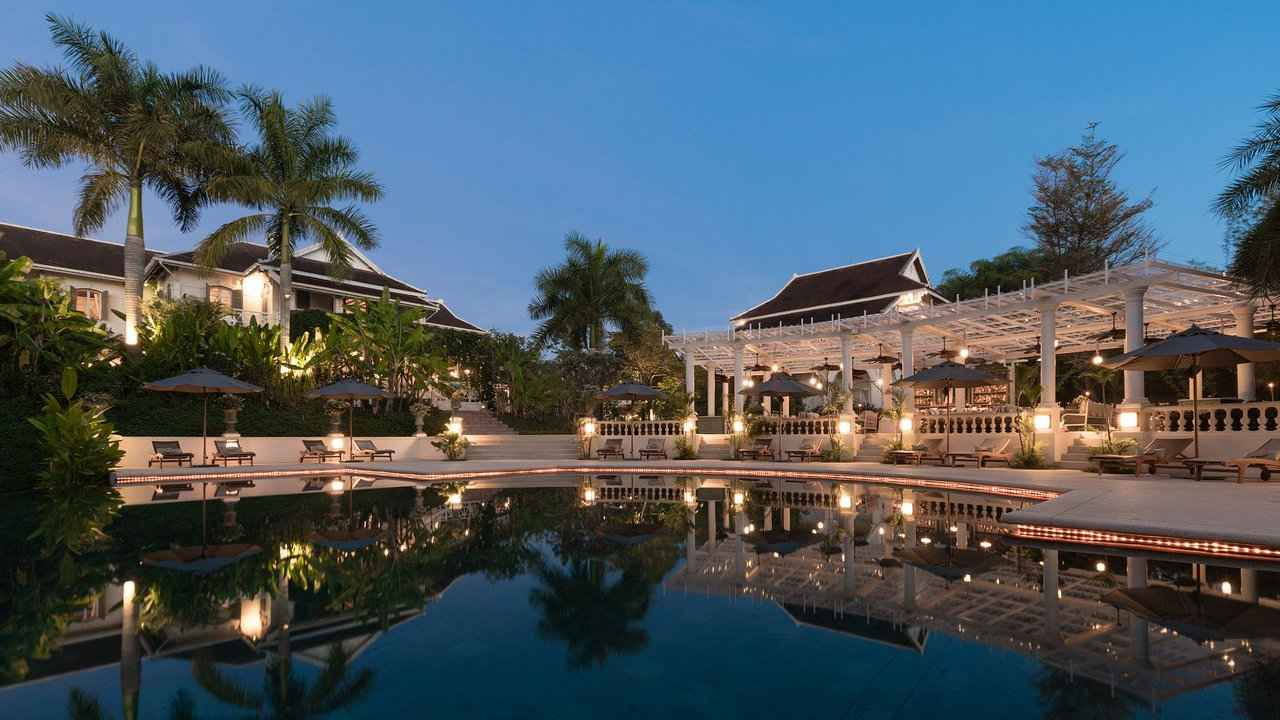 The Luang Say Residence is an incredibly luxurious accommodation choice in Luang Prabang
