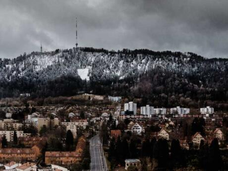 Uetliberg is the closest mountain to Zurich, which you can hike from the city!