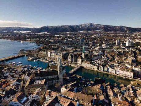 Zurich's Old Town is beautiful and worth discovering on a walking tour with a local guide