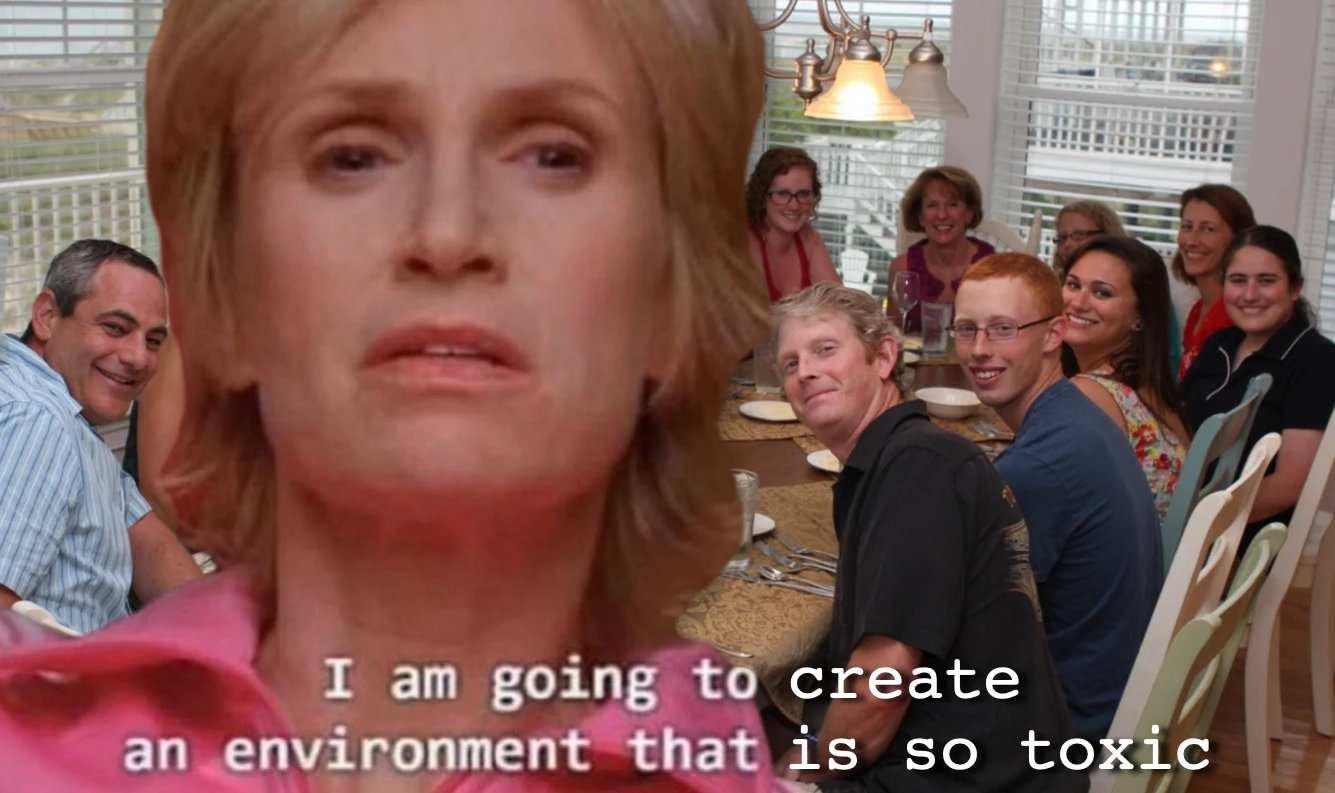 A citação de ambiente tóxico de Glee é um dos melhores memes a serem dominados pelos gays
