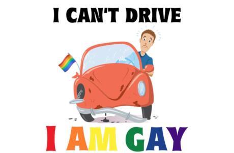 Os gays que não podem dirigir é um dos nossos memes gays favoritos