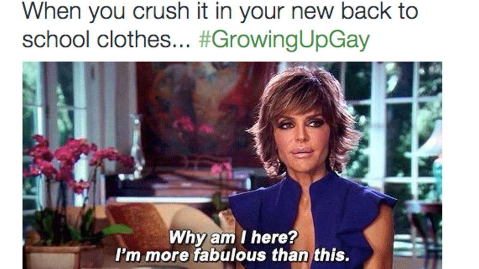 Para mais dos melhores memes gays, verifique a hashtag gay de crescimento no Twitter