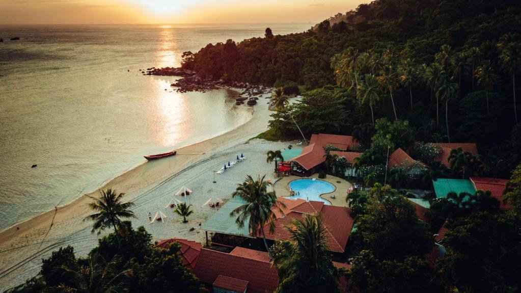 Adang Island Resort is the only hotel or resort on the island and quite romantic